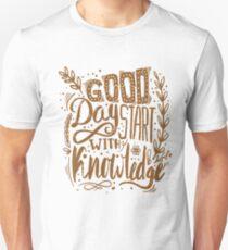 Coffee morning muffle breakfast ritual gift Unisex T-Shirt