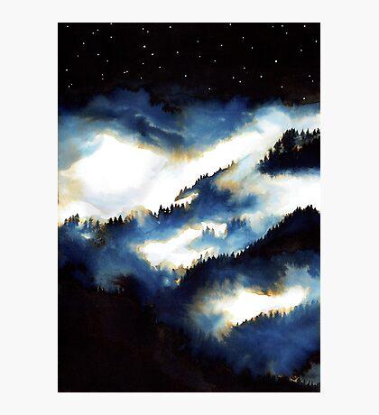Forêt de Nuit Impression photo