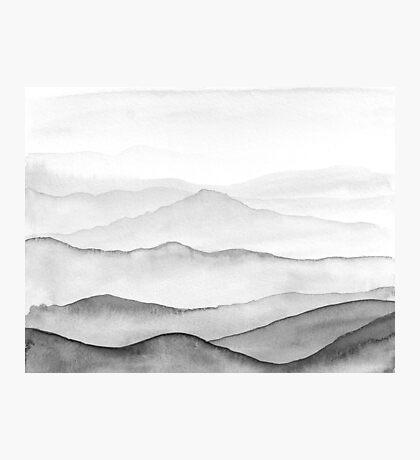 Montagnes Noires Impression photo