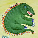a portrait of the dragon-2 by Irinamai