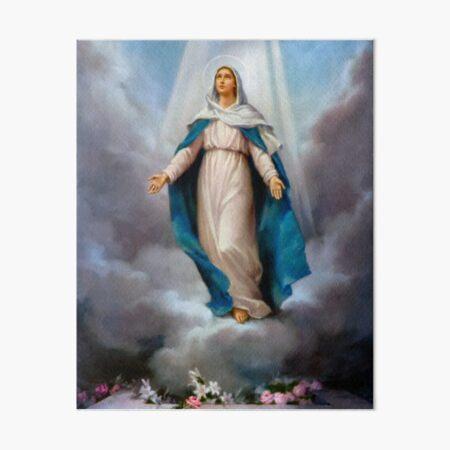 Blessed Virgin Mary  Art Board Print