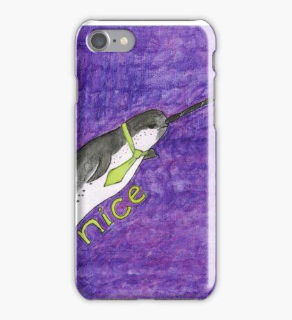 N is for Narwhal iPhone Case/Skin