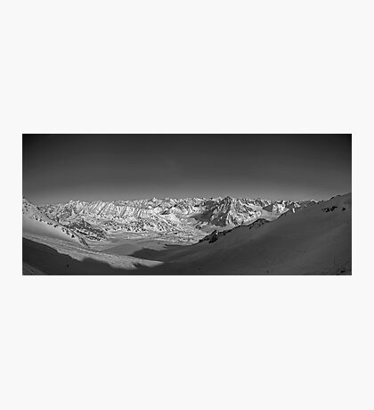towards the mountains Photographic Print