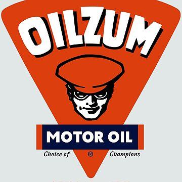 OILZUM - RETRO VINTAGE MOTOR OIL by dtkindling