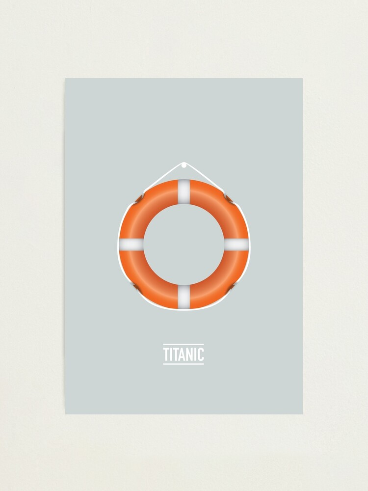 Alternate view of Titanic Photographic Print