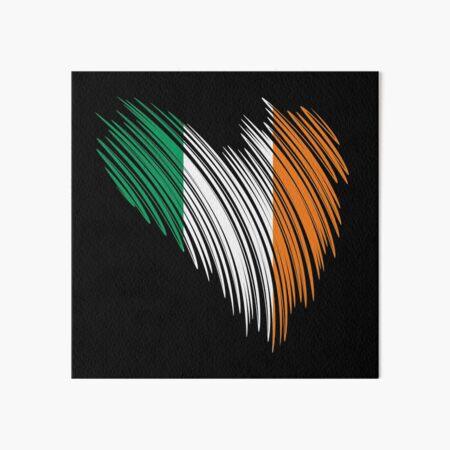 Irish flag Ireland gift idea Art Board Print