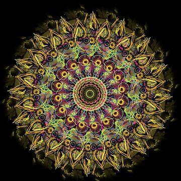 Sunflower Mandala by cheriedirksen