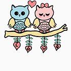 love owls by susana-art