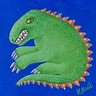 a portrait of the dragon-3 by Irinamai