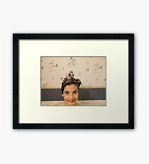 Shampoo Hairdo Framed Print