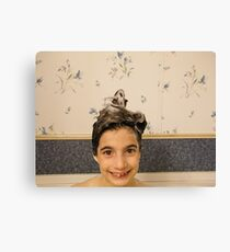 Shampoo Hairdo Canvas Print