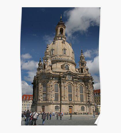 Frauenkirche, Dresden, Germany Poster