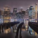New York by Night by Lorraine Creagh
