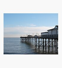 Teignmouth Pier Photographic Print