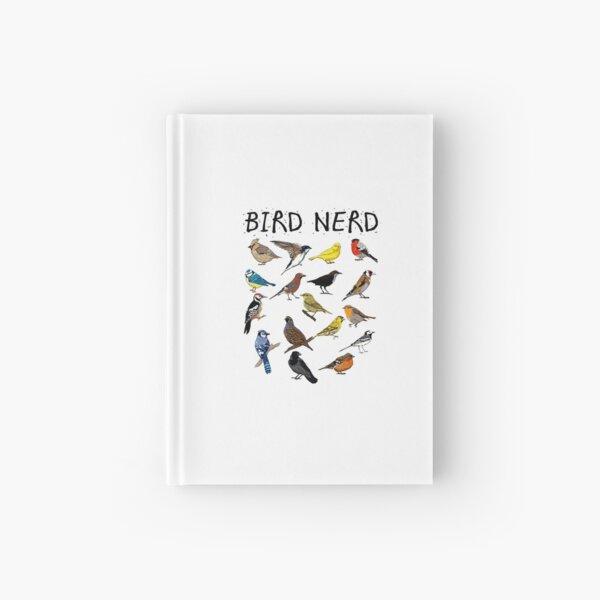 'Bird Nerd Different Kinds of Bird' Cute Bird Gift Hardcover Journal