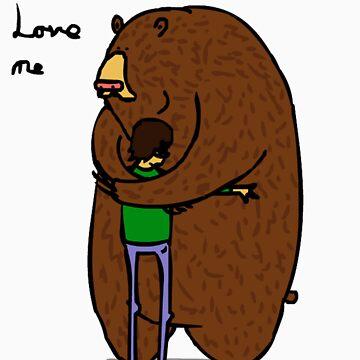 Bears love me by Benlyksmonsters
