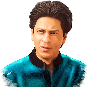 Shah Rukh Khan Digital Painting by KarimStudio