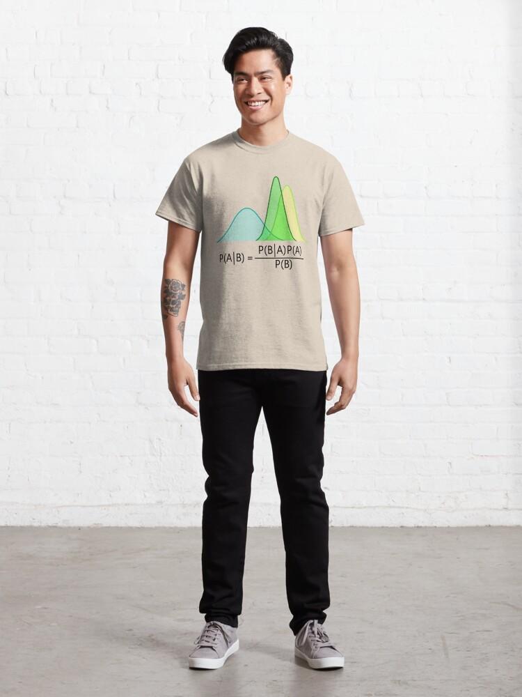 Alternate view of Bayesian Classic T-Shirt