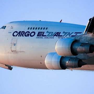 Cargo flight by ElAl Israel Airlines Boeing 747-400 by PhotoStock-Isra