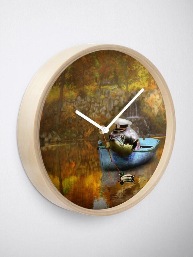 Alternative Ansicht von Tier - Fisch - Der Kapitän Uhr