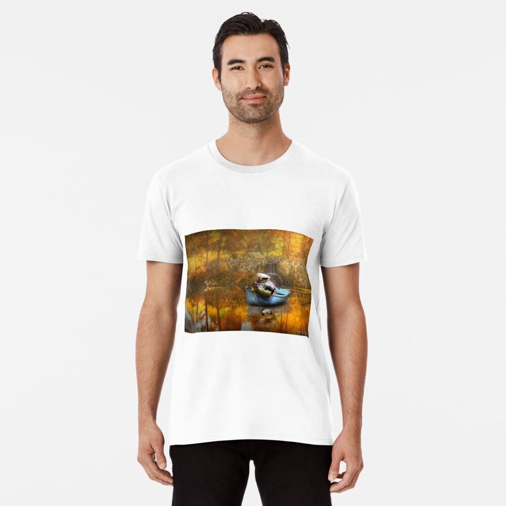 Tier - Fisch - Der Kapitän Premium T-Shirt