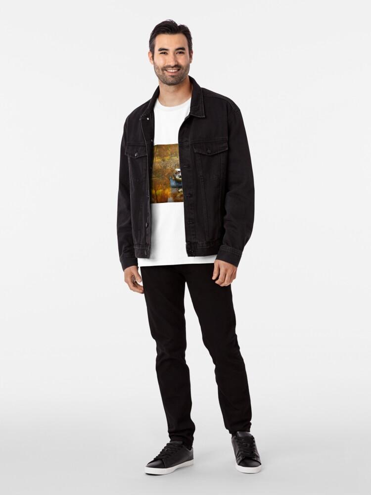 Alternative Ansicht von Tier - Fisch - Der Kapitän Premium T-Shirt
