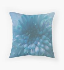 Flower And Bubbles 2 Throw Pillow