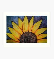 Sunflower Rising Art Print