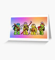 Tiny  Turtles  Greeting Card