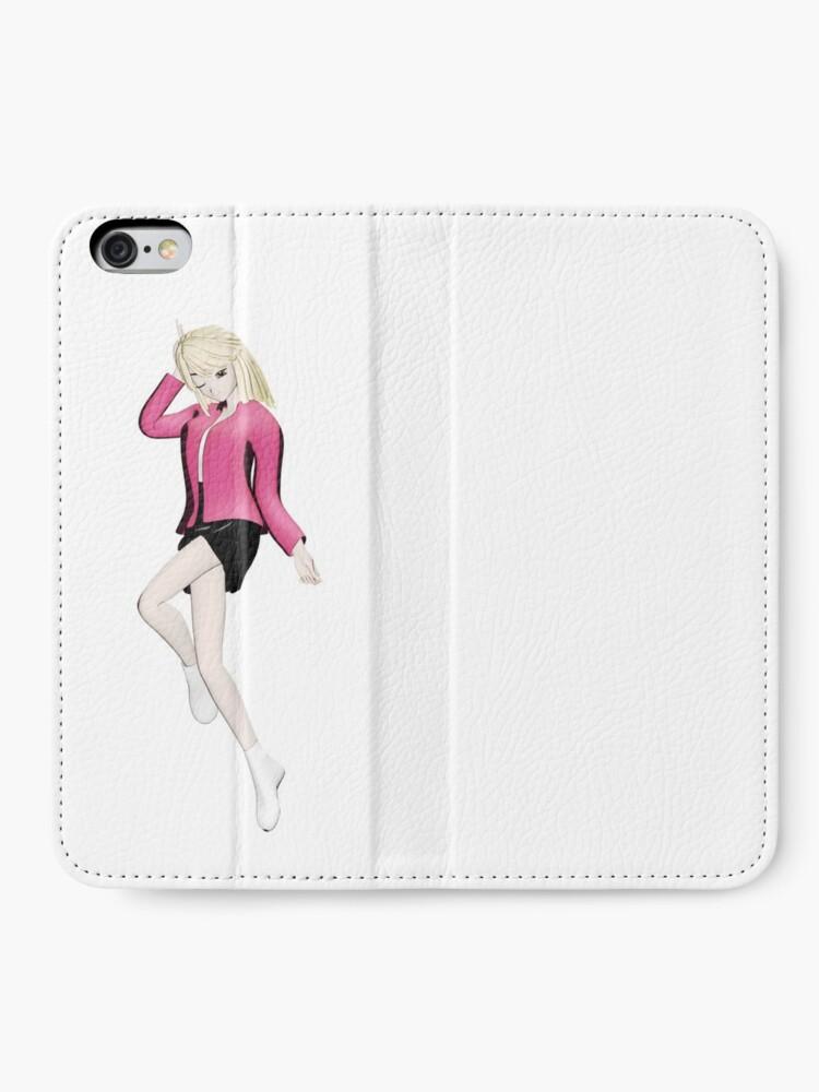 Alternative Ansicht von Manga Girl iPhone Flip-Case