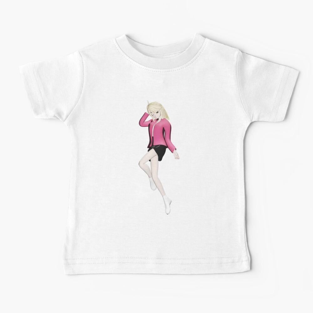 Manga Girl Baby T-Shirt