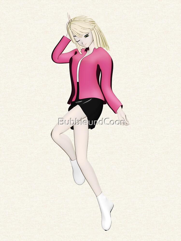 Manga Girl von BubbleundCoon