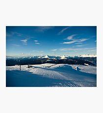 Neverending slopes Photographic Print