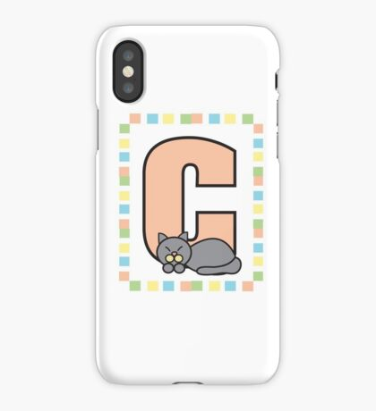 C is for Cat iPhone Case/Skin