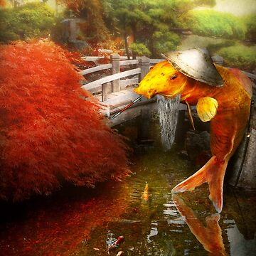 Animal - Fish - The wandering Samurai by mikesavad