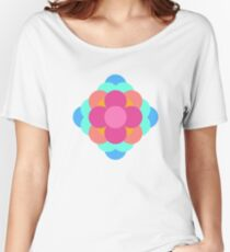 Flower Cube Women's Relaxed Fit T-Shirt