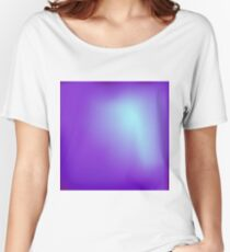 Abstract Sky Blue Background Women's Relaxed Fit T-Shirt