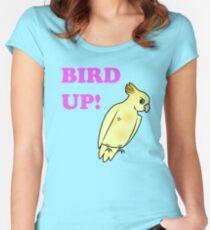 Bird UP Women's Fitted Scoop T-Shirt