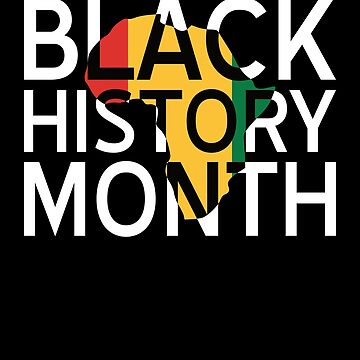 Black History Month Tshirt Political African Pride Tee Shirt by davdmark