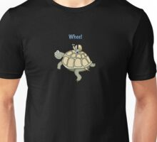 Turtle and Snail Having Fun and Buckled up! Unisex T-Shirt