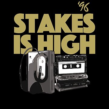 Stakes is High, De La, 90's Hip Hop by BonafideIcon