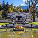 Germany. Bavaria. Linderhof Palace. Front Garden. by vadim19