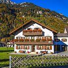 Germany. Bavaria. Countryside. House. by vadim19