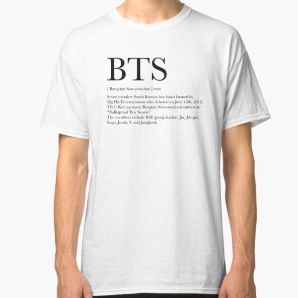 BTS definition Classic T-Shirt