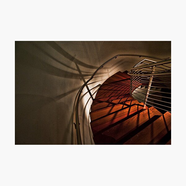 Stairs at the Gerding Photographic Print