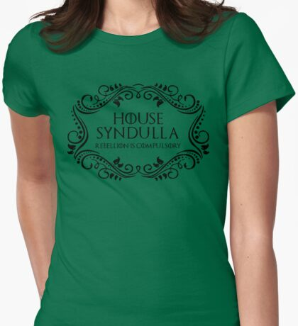 House Syndulla (black text) T-Shirt