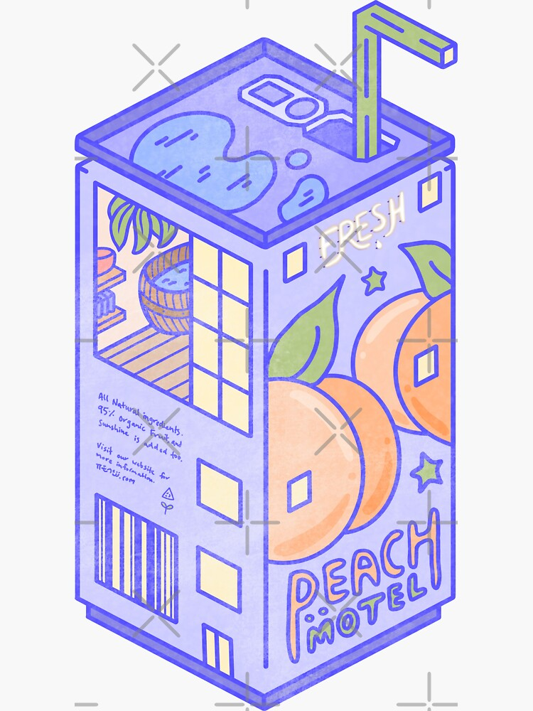 Peach Motel by LauraOConnor
