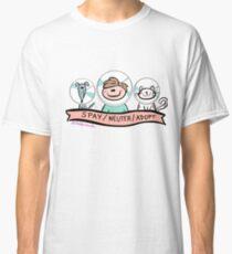 SPAY / NEUTER / ADOPT Classic T-Shirt