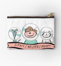 SPAY / NEUTER / ADOPT Zipper Pouch