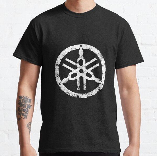 Yamaha Motor-Logo-Eroded-Motorcycle Classic T-Shirt